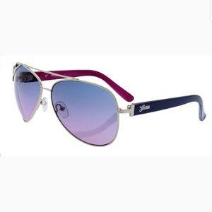 GUESS Violet Aviator Sunglasses